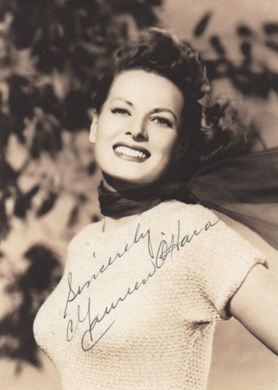 Maureen O'Hara   Regis Autographs
