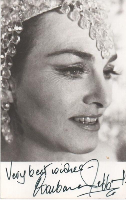Barbara Jefford | Regis Autographs