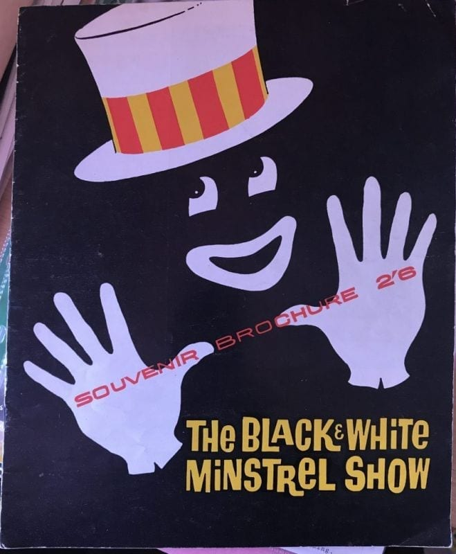The black white minstrel show signed x6 theatre for Black and white shows