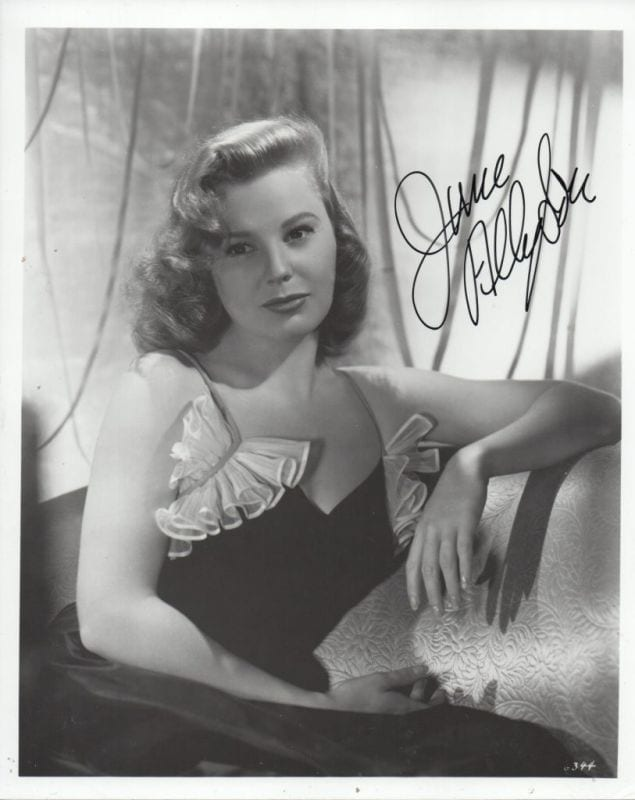 June Allyson naked (36 images) Pussy, YouTube, cleavage