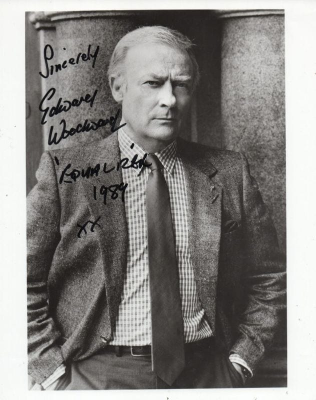 edward woodward death