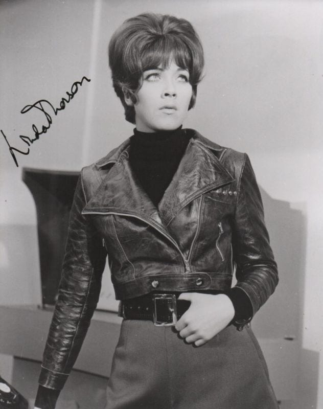 Linda thorson regis autographs linda thorson altavistaventures Image collections
