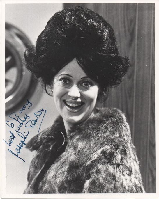 Josephine Tewson Regis Autographs Things pick up considerably, after the commercial break, when the wonderful josephine tewson shows up as mrs. josephine tewson